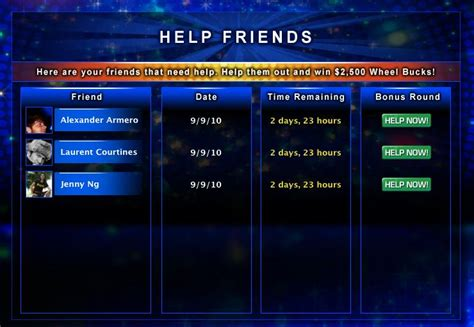 wheel fortune whirl give watchers baked players course into game