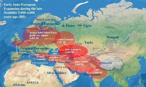 After the Ice – Maps of Early European Migrations in 2020 ...