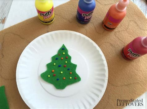 felt christmas cookies craft for kids tutorial