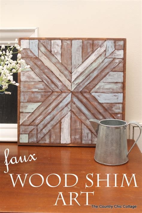 pottery barn wall wood quilt square knock the country chic cottage