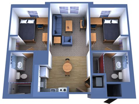 two bedrooms fau innovation apartments iva n