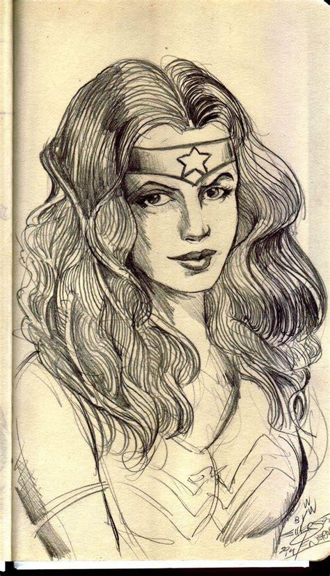 Sketchbook Wonder Woman Penerari Deviantart