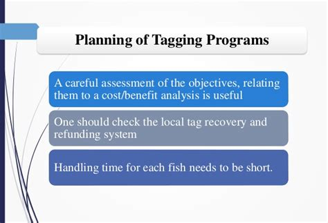 tagging methods  stock assessment  research  fisheries