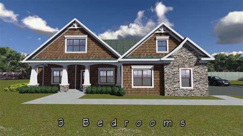 craftsman house plan   youtube