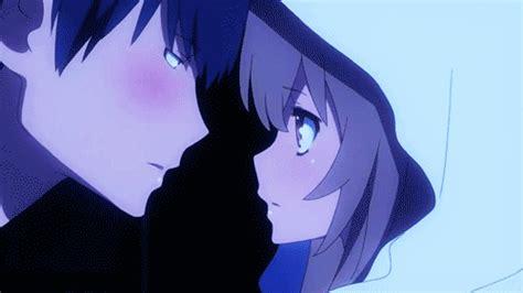 anime kiss gif tumblr