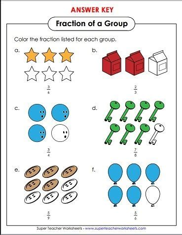 color in the number of objects to correctly represent the