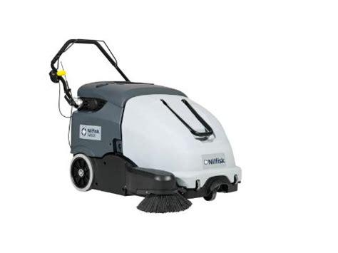 nilfisk sw battery floor sweeper walk  floor