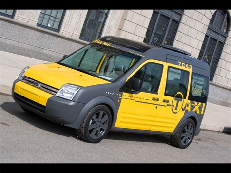 2008 Ford Transit Connect Taxi Concept Front And Side