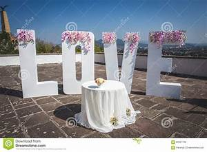 large love letters stock photo image of flower large With large love letters for wedding