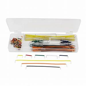 140 Pcs Breadboard Jumper Cable Wire Kit W Box For Board