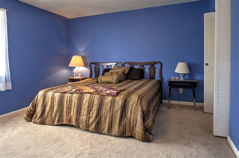 maxmeyer avec colore pareti camera da letto blu