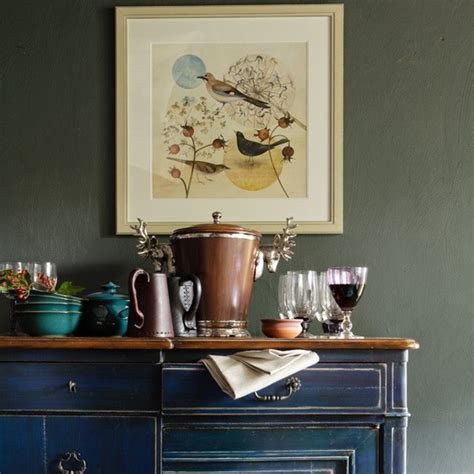 Decorating A Sideboard by Remodelaholic How To Decorate A Buffet