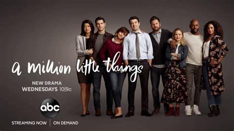 ABC rinnova A million little things per una seconda ...