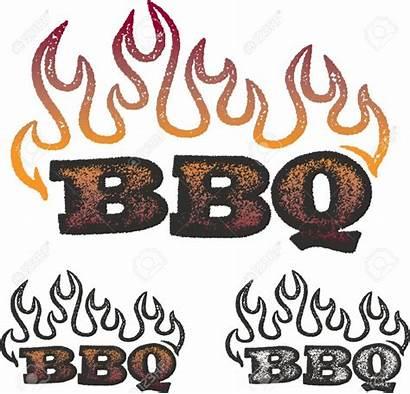 Bbq Clipart Barbecue Clip Flames Grafik Grafiek