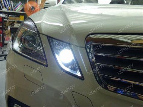 2010 13 mercedes e350 e550 6000k hid match led parking