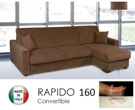 canapé angle convertible rapido canape d 39 angle convertible rapido 160cm dreamer tissu