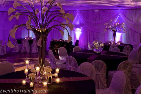 modern plum wedding decorations with plum gold wedding