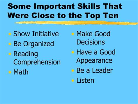 What Are Important Skills To List On A Resume by Ppt What Do You Want From Powerpoint Presentation Id 1361674