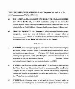 sample power purchase agreement 7 documents in pdf With solar power purchase agreement template