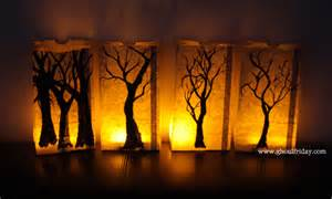 Homemade Halloween Luminary Bags by Image Gallery Homemade Paper Halloween Lantern