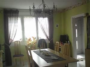 Rideaux Salle à Manger : salle a manger photo 6 14 la on peut voir mes rideaux ~ Dailycaller-alerts.com Idées de Décoration