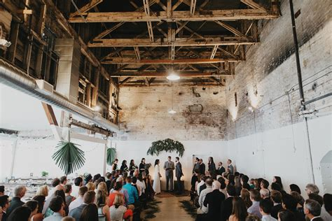 portland warehouse wedding jacobsen salt factory