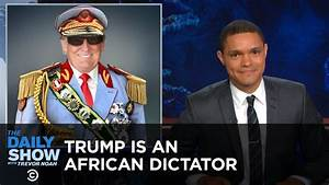 Donald Trump - America's African President: The Daily Show ...