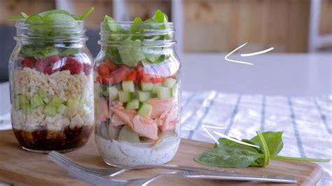 cuisine en pot j salade en pot au saumon cuisine futée parents pressés