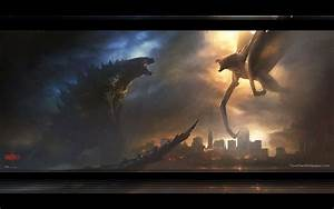 Godzilla vs Muto Wallpaper by weissdrum on DeviantArt