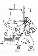 Pirate Coloring Ship Pages Sword Pirates Drawing Ships Pittsburgh Getdrawings Simple Sheet Clipartqueen sketch template