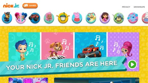 free preschool games nick jr nick jr now has an official app probably more for your 564