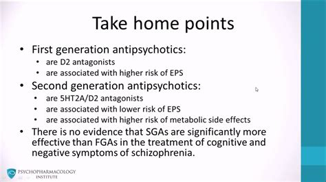 typical  atypical antipsychotics  home points youtube