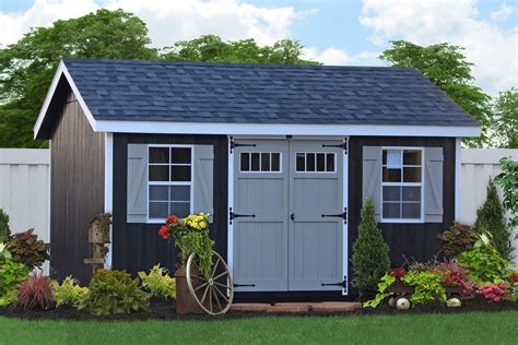 From The Shed by Buy Classic Wooden Storage Sheds In Lancaster Pa