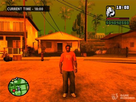 Ps2 Graphics ' Orange Atmosphare For Gta San Andreas