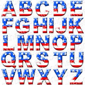 project wedding album 17 patriotic letter fonts images american flag font