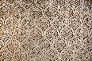 Arab, Mosaic, In, The, Alhambra, In, Granada, Spain, Stock, Photo