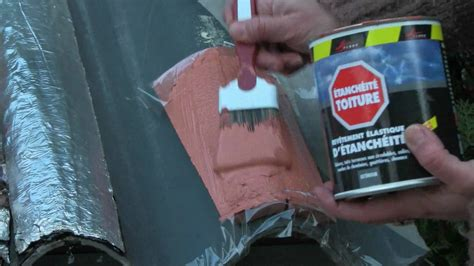 peinture tuile ciment reparation d une tuile cassee armature tissu peinture d
