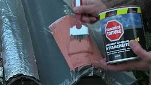 Goudron A Peindre : reparation d une tuile cassee armature tissu peinture d ~ Premium-room.com Idées de Décoration
