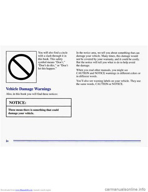 CHEVROLET EXPRESS 1996 1.G Owners Manual
