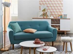 canape scandinave ou trouver des modeles pas chers With tapis de couloir avec canapé bleu canard scandinave