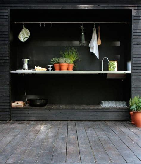 cuisine compacte design 1001 idées d 39 aménagement d 39 une cuisine d 39 été extérieure