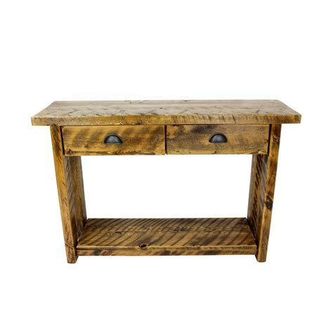 Entry Table With Drawers by Rustic Entryway Table With Drawers Four Corner Furniture