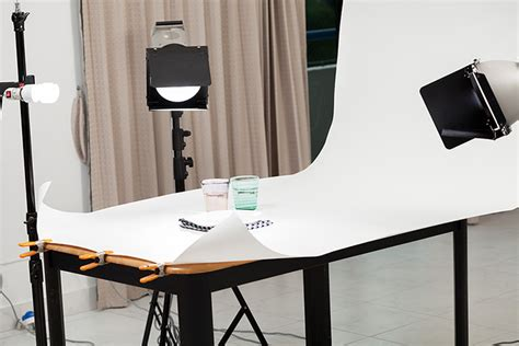 setup professional lighting  food photography