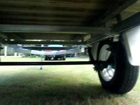 Hilux Tub Trailer by Ute Tray Back Trailer Alloy Aluminium