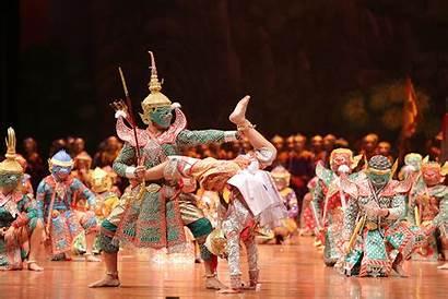 Thai Dance Thailand Khon Dancing Drama Classical
