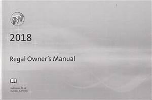 2018 Buick Regal Owner U0026 39 S Manual Original