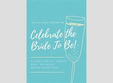 Customize 636+ Bridal Shower Invitation templates online