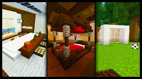 minecraft  furnitureroom designs ideas youtube