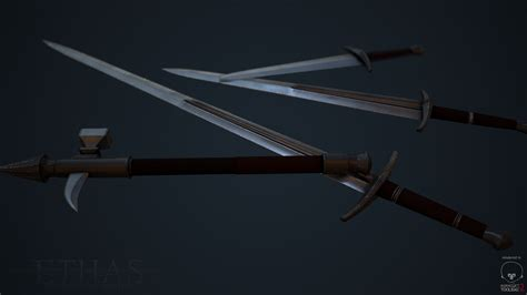 Ethisian Fine Steel Weapons Render image - Ethas: Embrace ...