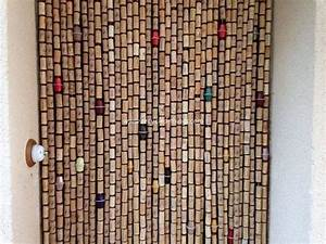 Curtains Made with Recycled Wine Corks Recycled Things
